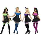 Sexy Witch Costume Adult Womens Halloween Fancy Dress