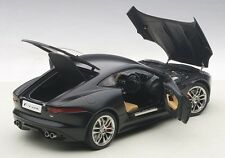 Autoart  JAGUAR F-TYPE 2015 R COUPE MATT BLACK 1/18 Scale New Release! In Stock!