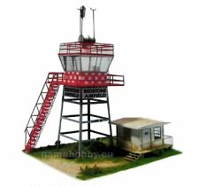 Control Tower  1:48 scale  Cardboard Control Tower Model Kit   (LASERCUT) NEW