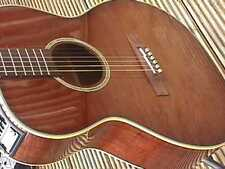 TAKAMINE TF77 PT £1900 COST ELECTRO ACOUSTIC GUITAR KOA BODY CEDAR TOP COOL TUBE