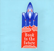 Vintage Bookmark Scope Charity 50 Anniversary Books Space Rocket Souvenir Gifts
