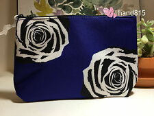 LANCOME Cosmetic Makeup Bag in PURPLE Color New 9*6*3 inchs