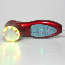 Sonic Photon rejuvenation 7color 3MHz Ultrasonic Photon LED Therapy Wine Red