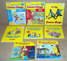 VERY NICE LOT OF 15 CURIOUS GEORGE BOOKS BY MARGRET & H.A. REY'S LEARNING WITH
