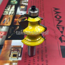 """Architectural Molding Router Bit - 1/2"""" Shank Woodworking takeorder-esf  13565"""