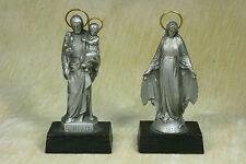 Pareja de San José con el niño y la Virgen.Couple of Saint Joseph and the Virgin
