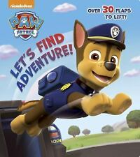 Let's Find Adventure! Paw Patrol Nifty Lift-and-Look