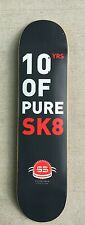 "GRAY S3 skateboards deck 7.75"" inch deck GRAPHIC DEAL BARGAIN PURE SK8 D-35"