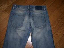 JIMMY CHOO FOR H&M BUTTON FLY CLASSIC JEANS WAIST 29 LENGTH 32 FAB LOOK