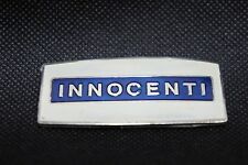 Lambretta Innocenti Rectangular Placa