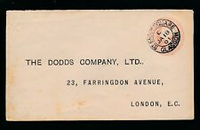 GB QV STATIONERY 1901 JAN...DODDS COMPANY PRINTED...ST ENOCH SQUARE GLASGOW