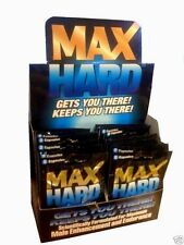 Max Hard Scientifically Formulated for Male 4 Pks of 2 (8 Pills)