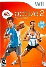 NEW EA Sports Active 2 Personal Trainer Bundle Nintendo Wii Heart Rate OPENED