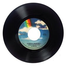 """1981 Barbara Mandrel """"Wish You Were Here/She's Out There Dancing"""" 45 RPM Epic NM"""