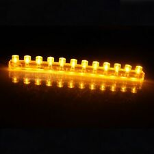 12cm yellow LED Flexible Neon Strip Light Car Van 12V