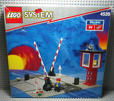 LEGO System Trains - Set 4539 Level Crossing - 1991 - Boite & Notice
