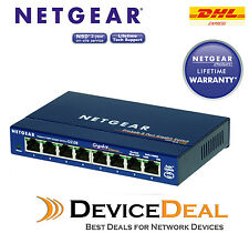 NETGEAR GS108 Prosafe 8 Port 10/100/1000 Gigabit Switch