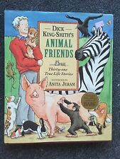 Dick King-Smith's Animal Friends Thirty-One True Life Stories HCDJ Book