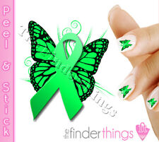 Non-Hodgkin Lymphoma Awareness Ribbon Nail Decal Sticker BFY168