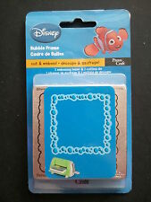 Cuttlebug Cut & Emboss Die Cutter BUBBLE FRAME 37-1724 fit Sizzix BigShot Wizard