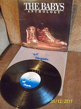 THE BABYS Anthology 1981 Chrysalis LP CHR 1351 EXC- w/sleeve