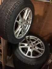 Snow tires for a Honda SI good condition with rims