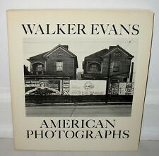 Walker Evans American Photographs 1975 Edition Lincoln Kirstein East River Press