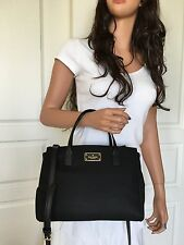 NWT Kate Spade Small Loden Blake Avenue Satchel Shoulder Crossbody Bag Black