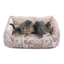 Armarkat Rectangle  Rose & Light Apricot Pet Bed, 34-Inch by 26-Inch D05HYH/FS-L