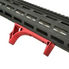 Hot Sale Red M-lok Link Curved Foregrip Forend Hand Stop Fore Grip CNC Aluminum