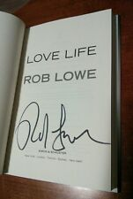 """Rob Lowe Signed book """"Love Life"""" autographed! + proof COA HARDCOVER 1st ed/1st"""