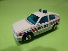 MATCHBOX OPEL VAUXHALL ASTRA GSI GTE - POLICE - WHITE 1:60?- GOOD CONDITION