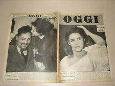 OGGI=1953/3=GIURAMENTO ORGOSOLO=MARIA MINIATI=MARIO LANZA=MUSICA NAPOLETANA=