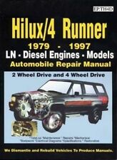 TOYOTA Hilux/4 Runner 1979 to 1997 Diesel Turbo & Surf models Car Book Paper