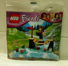 LEGO FRIENDS POLYBAG 30398 ADVENTURE CAMP BRIDGE NEW AND SEALED.