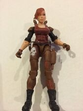 LANARD CORPS Custom RARE 3.75 FEMALE FIGURE G.I JOE COMPATIBLE Soldier Mercenary