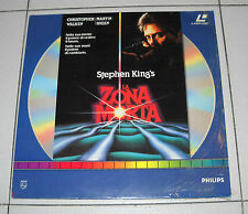 Laser Disc Stephen King LA ZONA MORTA Christopher Walken OTTIMO ITA LD Laserdisc