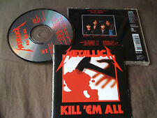 METALLICA / kill 'em all /JAPAN LTD CD
