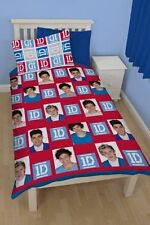 One Direction Duvet Cover Set 1D Single Reversible Duvet Quilt Cover Bedding Set