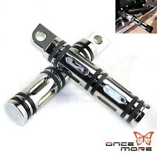 Foot Pegs Rest For Harley-Davidson Motorcycle Touring Male Peg Mount CNC Billet