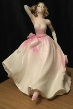 Coalport Ladies Of Fashion Young Love Figurine Modelled By John Bromley