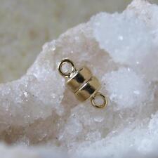 585 gold filled , stark vergoldeter magnet verschluss, 9,7x4,4mm, ungestempelt