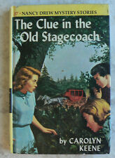 Nancy Drew:The Clue in the Old Stagecoach #37 by Carolyn Keene 1960 Matte HC