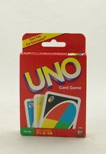 CLASSIC UNO CARD GAME ~ Card Deck w/ 108 Cards ~ Mattel 42003 ~ Family Fun ~ NEW