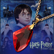 Free Shipping NEW Harry Potter Magic Stone Necklace Trendy Pendant Ruby hnd