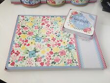 Set 8 Shabby Chic Vintage Table Place Mats & Coasters Ditsy Floral Primrose