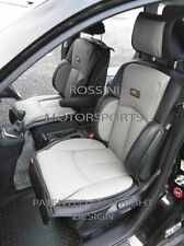 TO FIT A FIAT 500L CAR, SEAT COVERS, YS01 RECARO SPORTS, GREY / BLACK