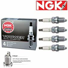 4 -OEM Type HONDA NGK 2262 Spark Plug - V-power for Accord Civic CR-V Pilot etc