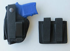 Gun Holster Combo for the S&W BODYGUARD 380 Pistol with Double Mag Pouch