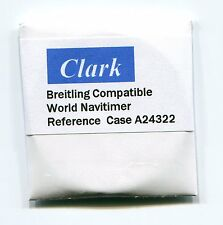 """Clark"" Sapphire crystal for Breitling World Navitimer case # A24322 42.16 mm"